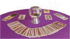 Crystal Ball with Tarot Reading