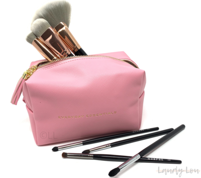 Cosmetics Bag - Pink 'Everyday Essentials'