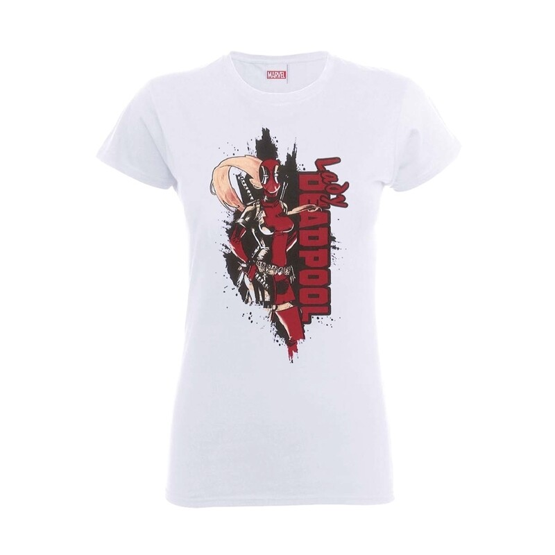 Ladies Lady Deadpool T-Shirt