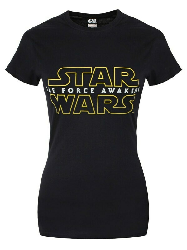 Female Star Wars The Force Awakens Fitted T-Shirt