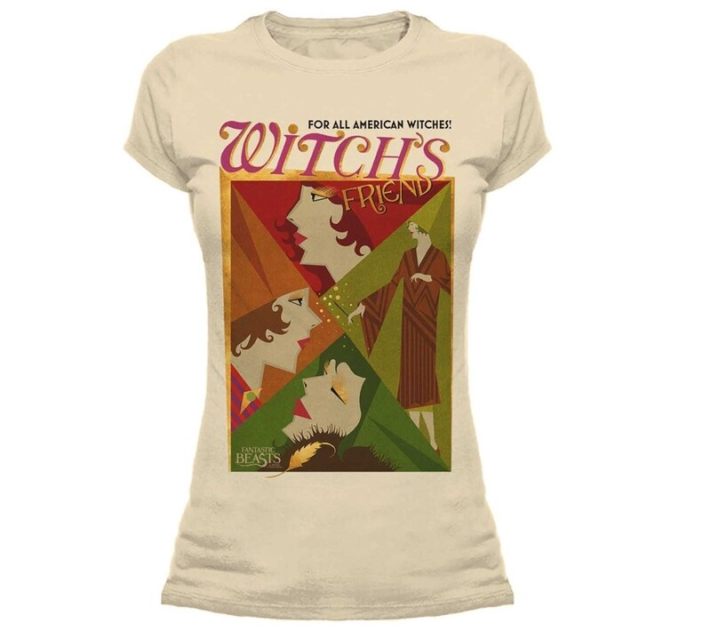 Female Fantastic Beasts 'Witch's Friend' Fitted T-Shirt