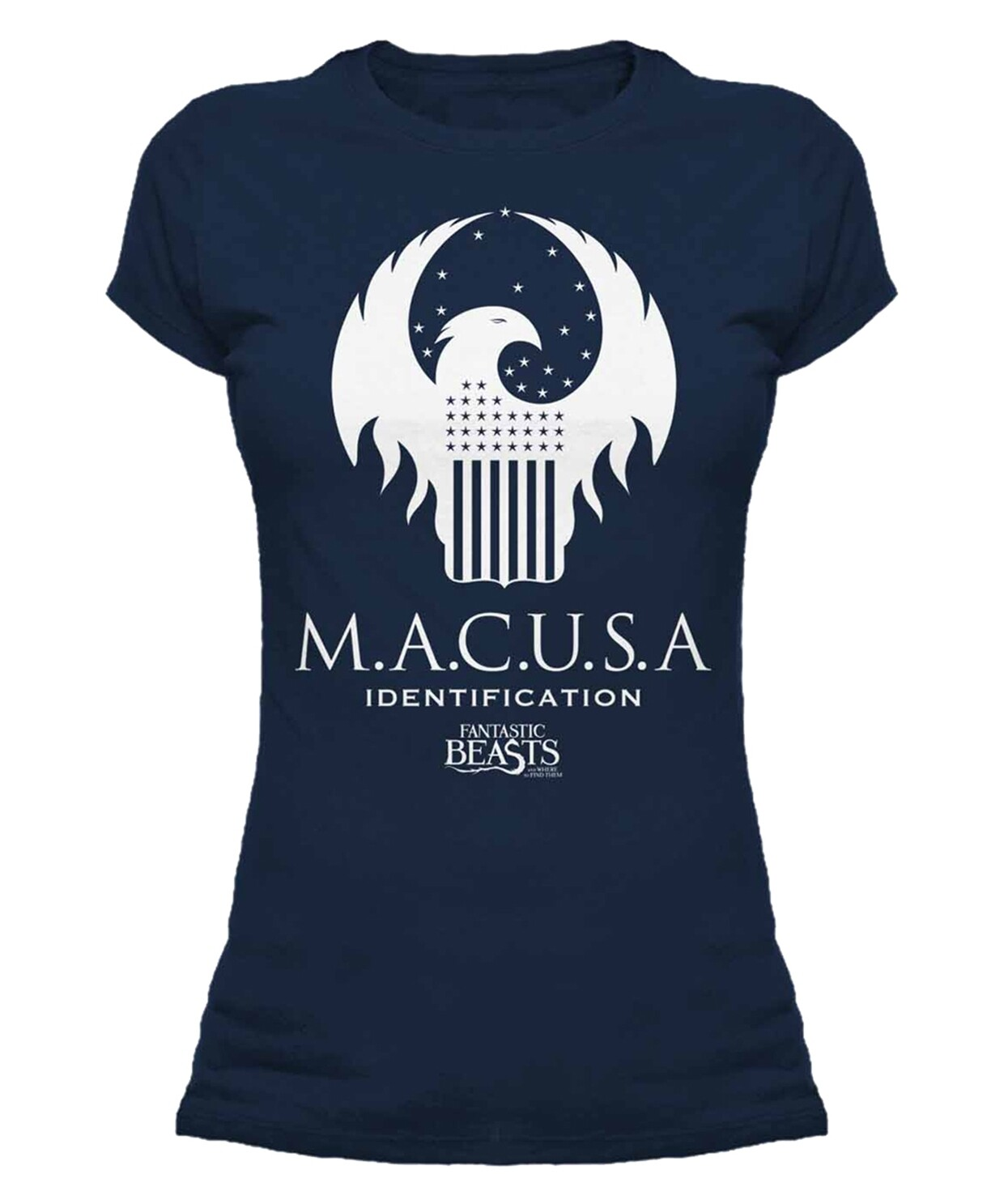 Female Fantastic Beasts 'Macusa' Fitted T-Shirt