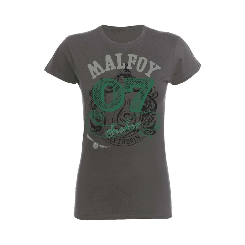 Female Harry Potter 'Malfoy Seeker' Fitted T-Shirt