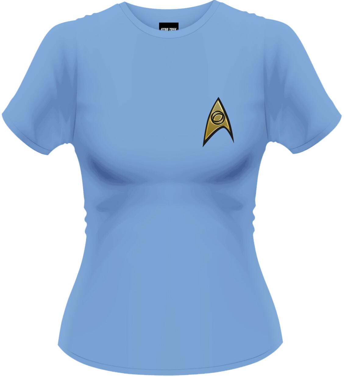 Female Star Trek 'Bones' Style Fitted T-Shirt