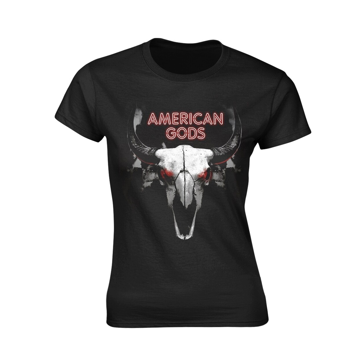 Female American Gods Fitted T-Shirt