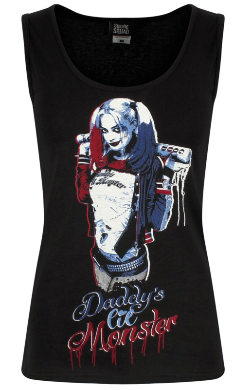 Ladies Harley Quinn Vest Top