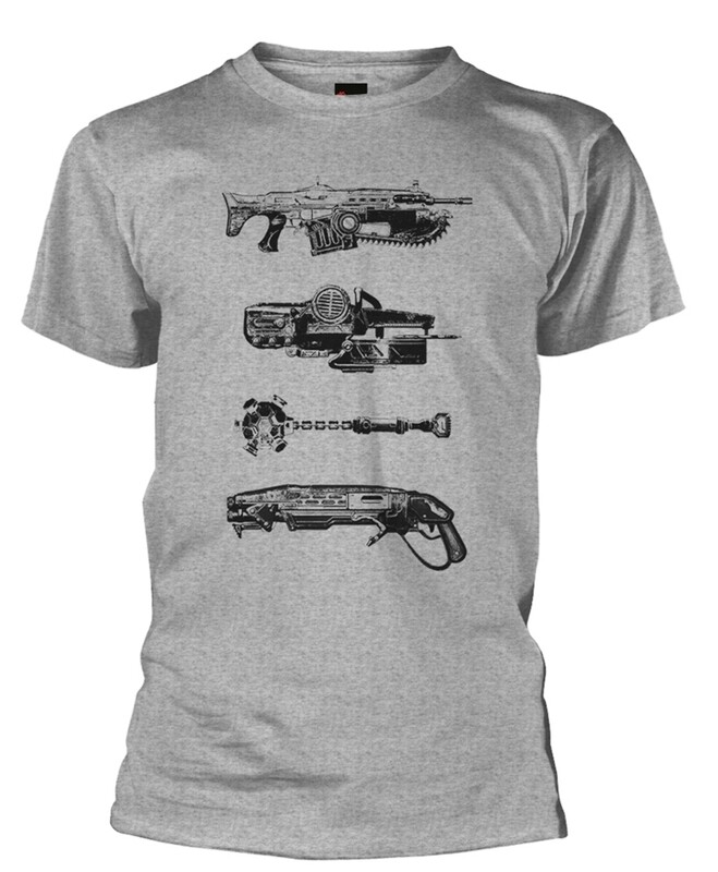 Gears of War 'Weapons' T Shirt