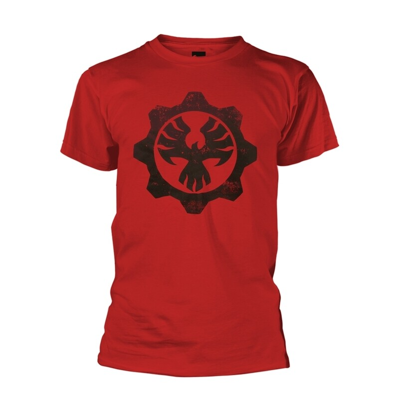 Gears of War 'Phoenix Omen' T Shirt - Red