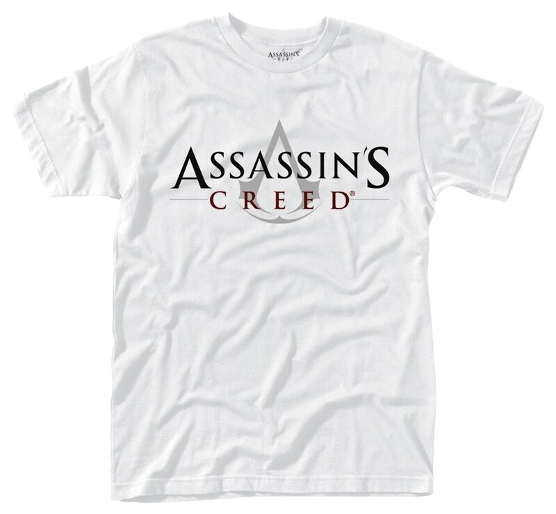 Assassin's Creed Logo White T Shirt