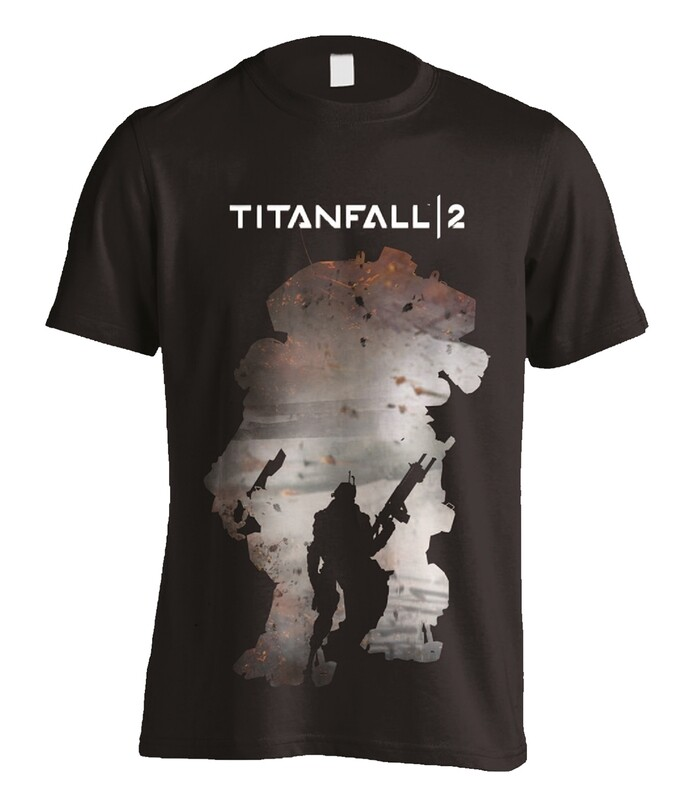 Titanfall 2 Regie Silhouette T Shirt