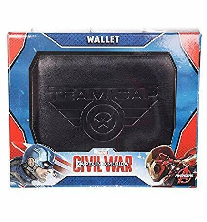 Marvel Civil War Embossed Detail Wallet