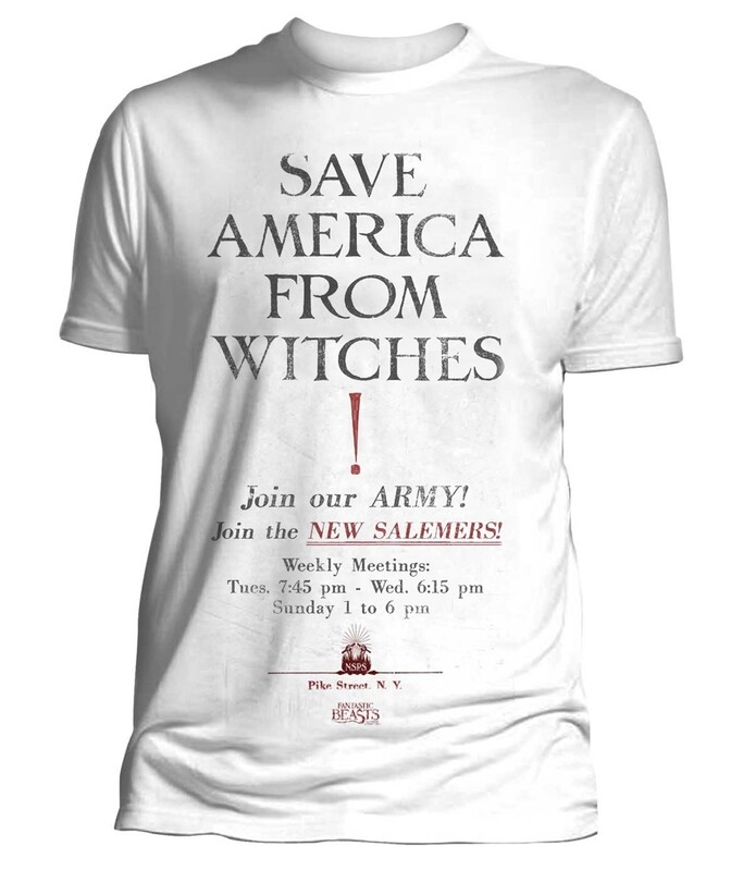 Fantastic Beasts 'Save America from Witches' T-Shirt