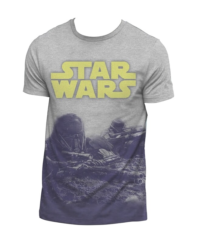 Star Wars Dye Sub Fight Scene T-Shirt