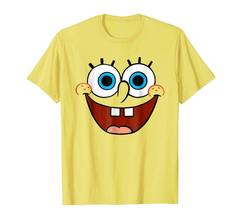 Kids' Spongebob Face T Shirt