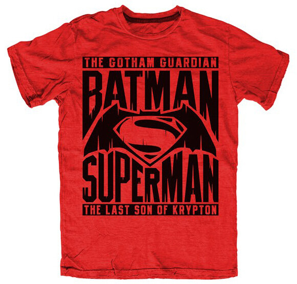 Unisex Batman VS Superman 'Gotham Guardian' T-Shirt