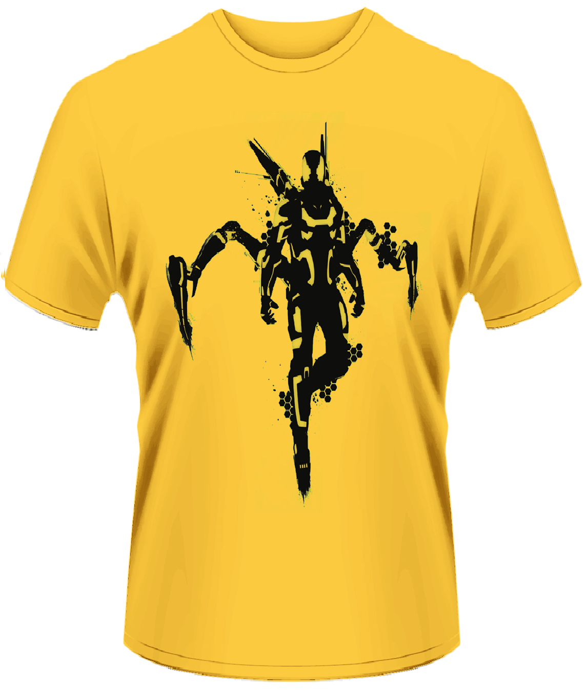 Unisex Marvel Ant Man Yellow Jacket T-Shirt