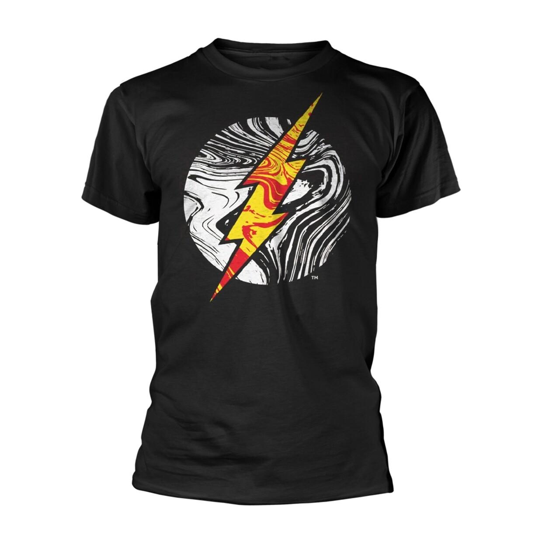 Unisex DC Flash Molten Lava Logo Image T-Shirt