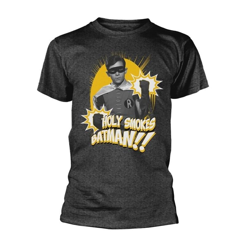 Unisex Classic Batman Robin 'Holy Smokes' T-Shirt