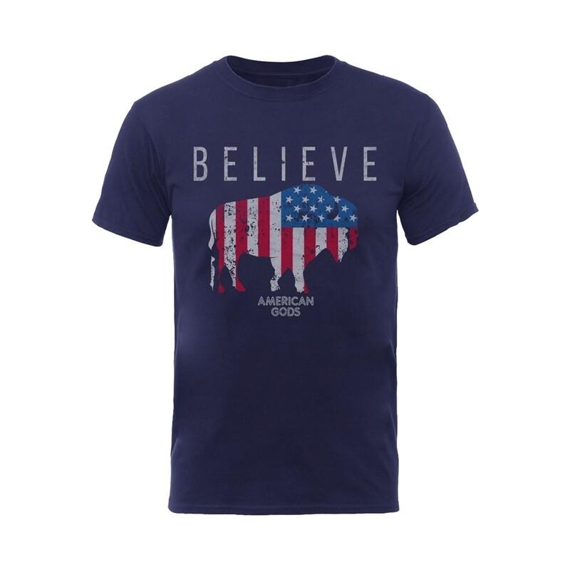 American Gods 'Believe' T Shirt