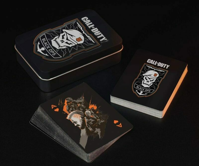 Call of Duty Black Ops Tinned Playing Cards