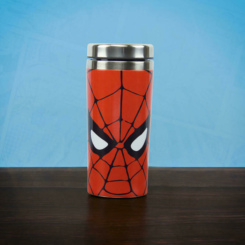 Spider-Man Metal Travel Mug