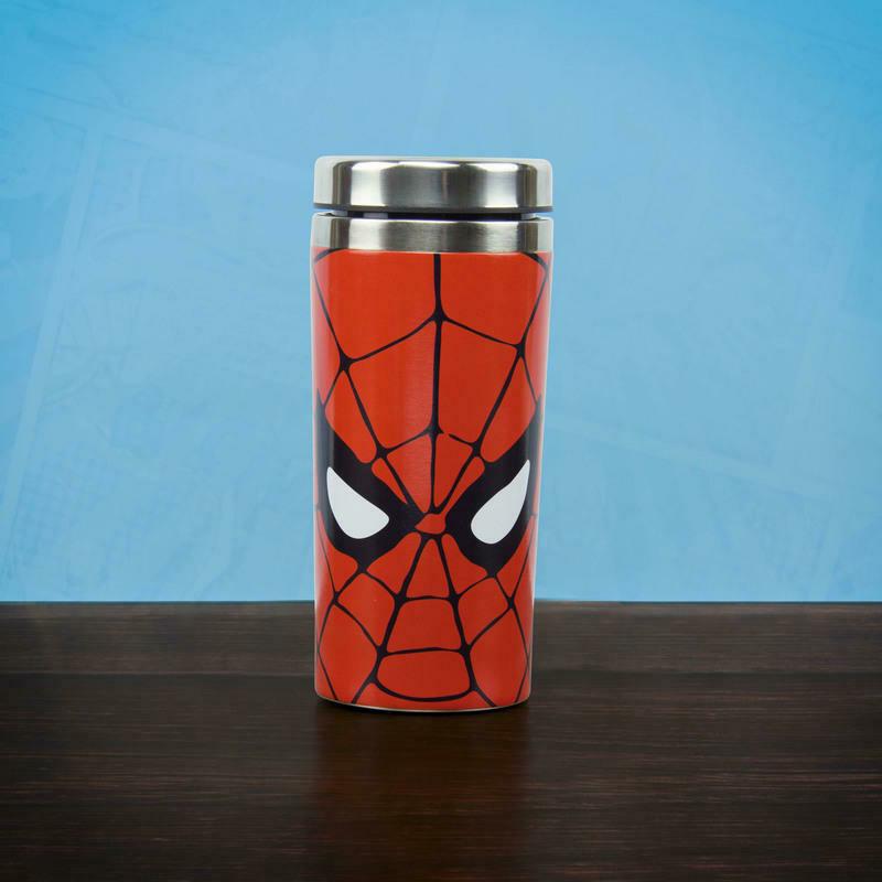 Spider-Man Metal Travel Mug