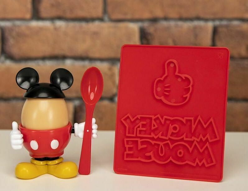 Mickey Mouse Egg Cup and Toast Stamp