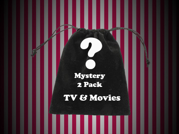 Unisex Mystery Bag - 'The Viewer Pack' TV & Movie 2 Pack Bag