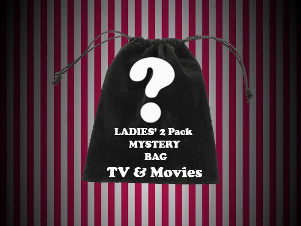 Ladies' Mystery Bag - 'The Viewer Pack' TV & Movie 2 Pack Bag