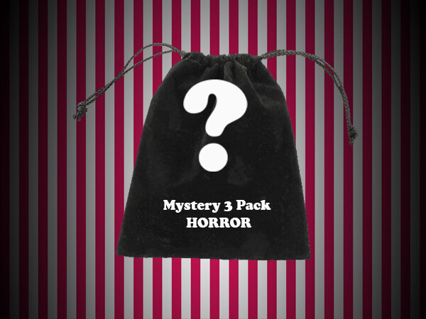 Unisex 3 Pack Horror Bag Mystery T Shirt Bundle