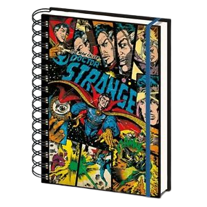 Marvel Doctor Strange Lined Hard Cover Notebook