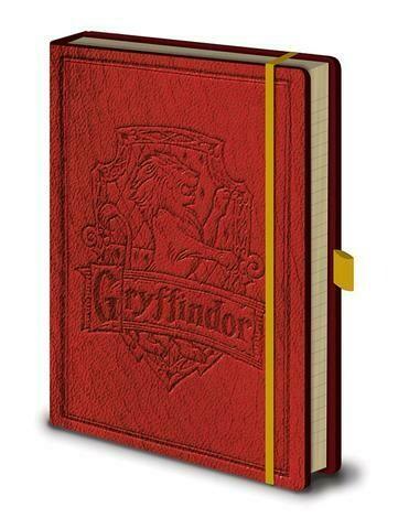 Harry Potter Premium Notebook - Gryffindor
