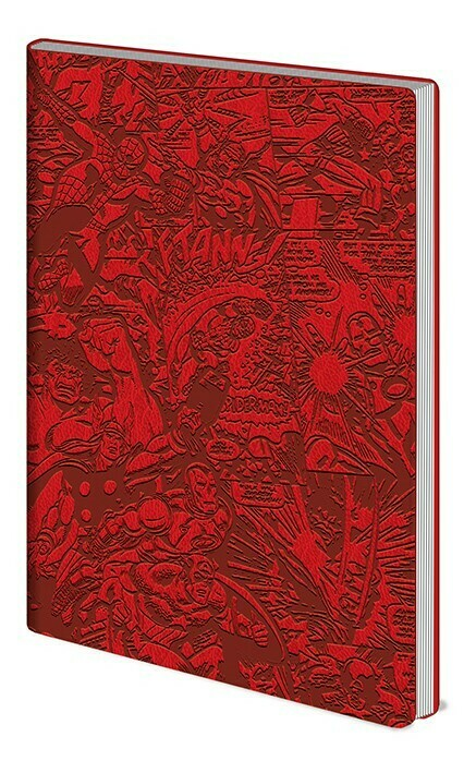 Marvel Soft Embossed Notebook