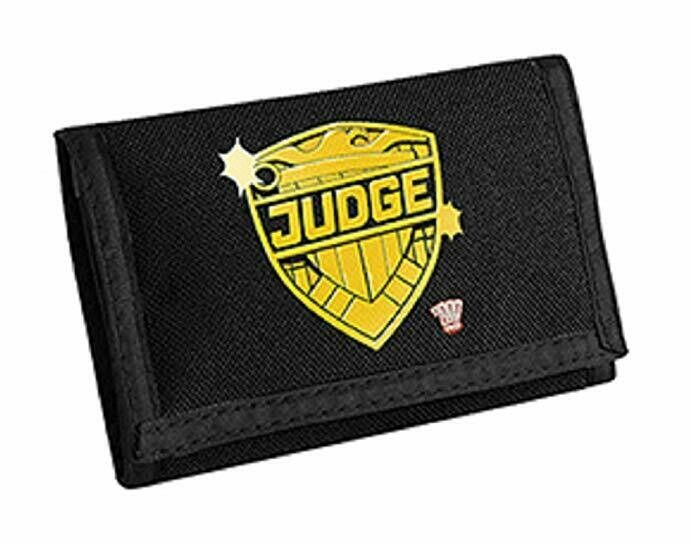 2000AD Judge Dredd Velcro-Close Wallet