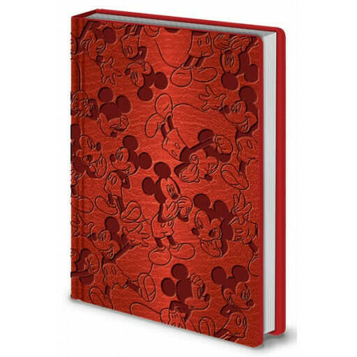 Mickey Mouse Soft Embossed 'Flexi' Cover Notebook