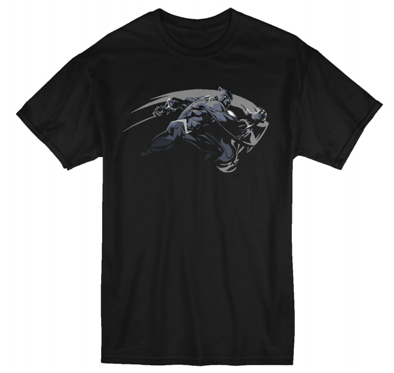 Unisex Marvel Black Panther T-Shirt