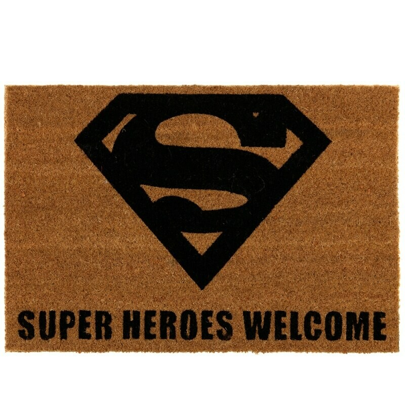 Superman Door Mat