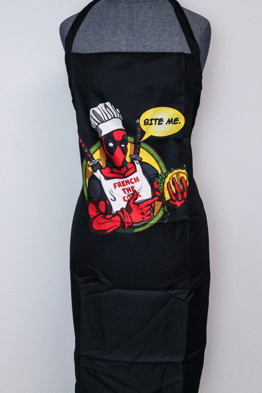 Marvel Deadpool 'French The Cook' Apron