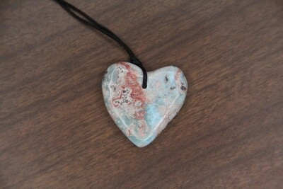 Larimar Stained Heart