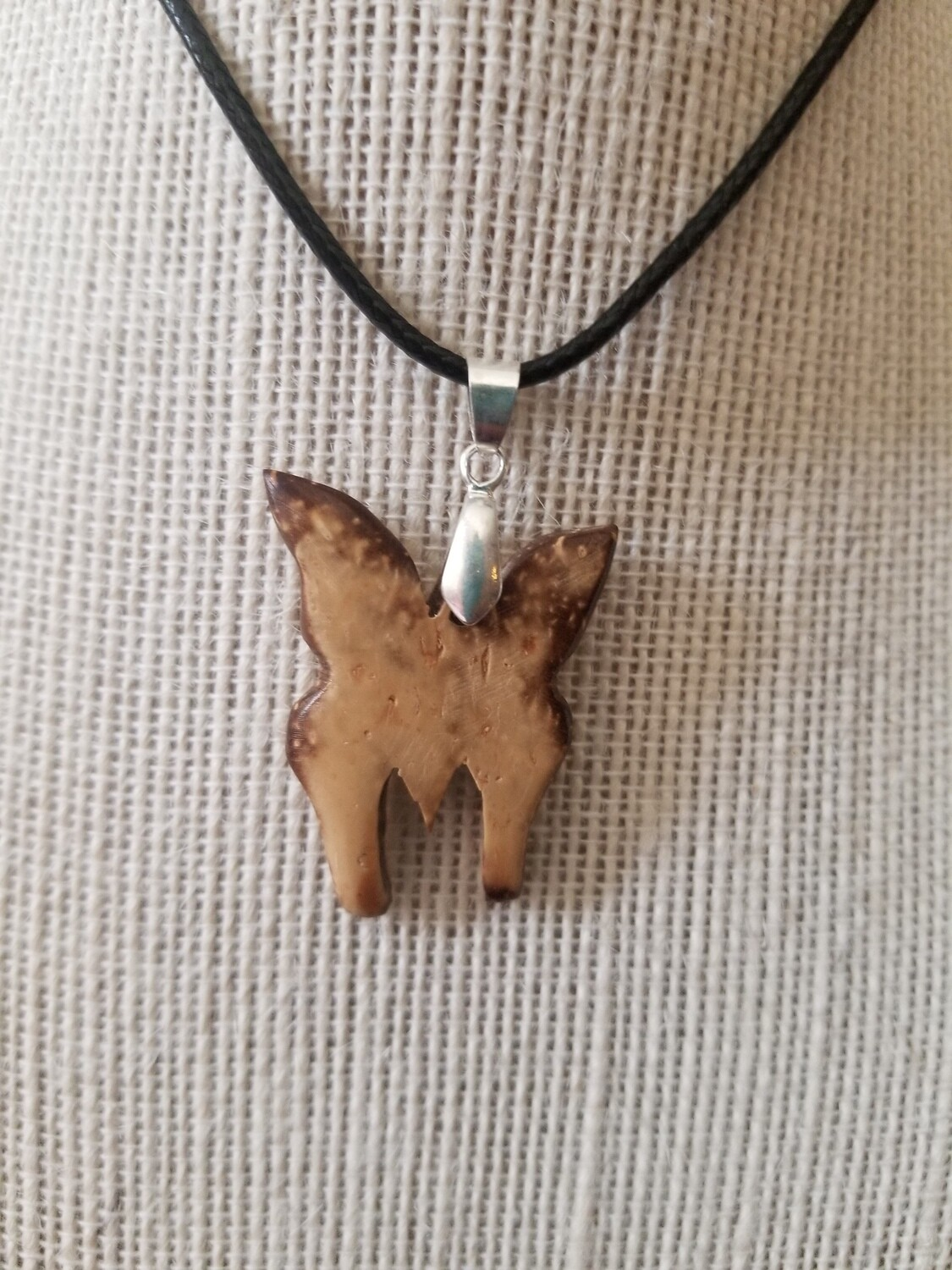 Coconut Butterfly Necklace