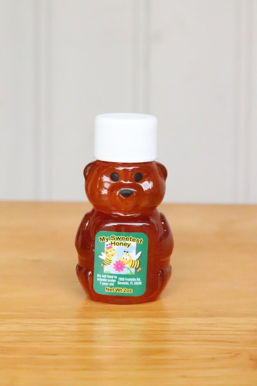 Florida Raw Honey 2oz