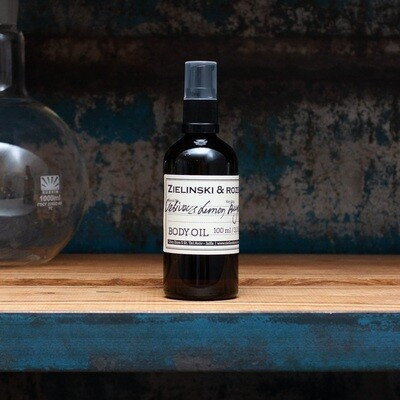 Масло для тела Ветивер, Лимон, Бергамот (100мл)