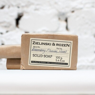 Solid soap Rosemary & Lemon, Neroli (100 g)