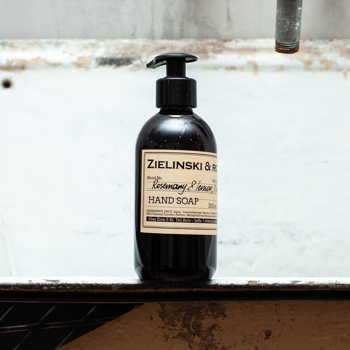 Жидкое мыло Розмарин, Лимон, Нероли (300мл)