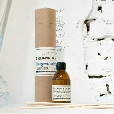 Aromatherapy Diffuser Lemongrass & Vetiver, Amber (212,5 ml)