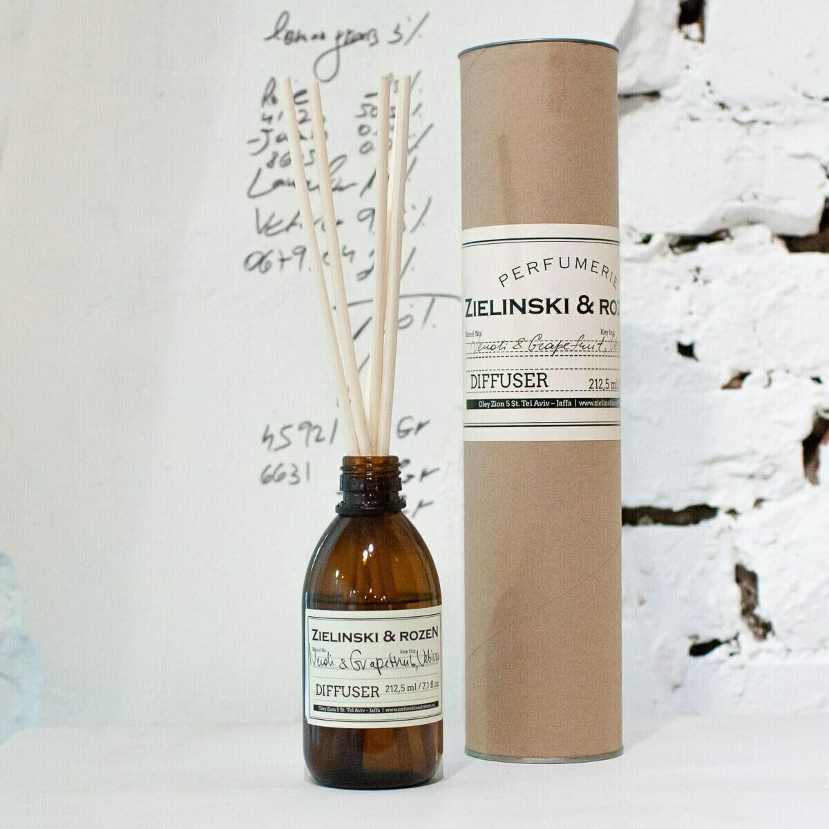 Диффузор для ароматерапии Нероли, Грейпфрут, Ветивер (212,5мл)