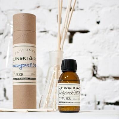 Aromatherapy Diffuser Lemongrass & Vetiver, Amber (85 ml)