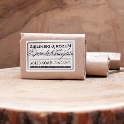 Solid soap Grapefruit & Patchouli, Luisa (75 g)