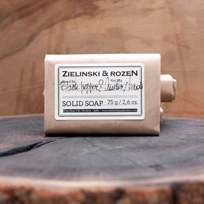 Solid soap Black Pepper & Amber, Neroli (75 g)