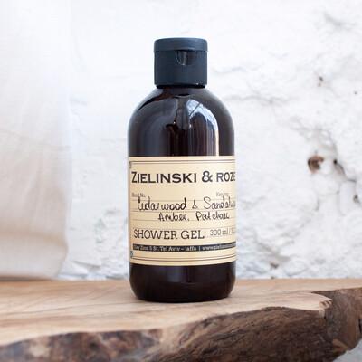 Shower gel Cedarwood & Sandalwood & Amber, Patchouli (300 ml)